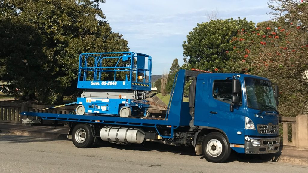 Forklift Transport and Machinery transport