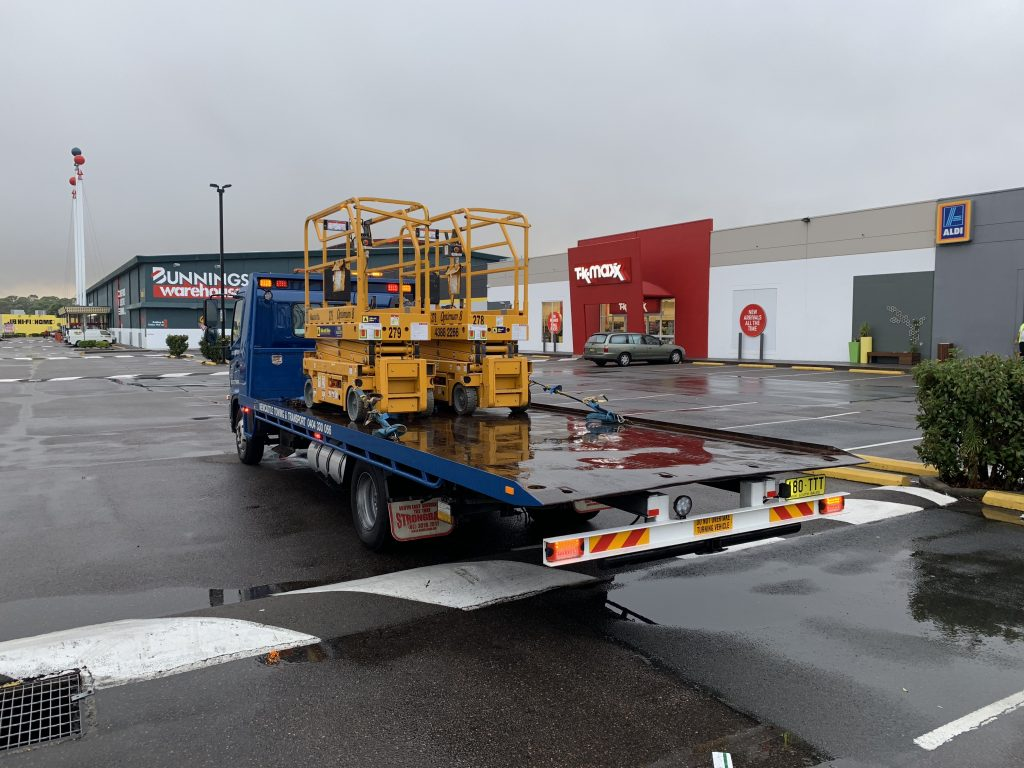 Forklift and Machinery Transport