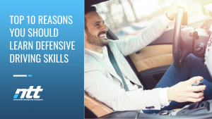 Top 10 Reasons You Should Learn Defensive Driving Skills