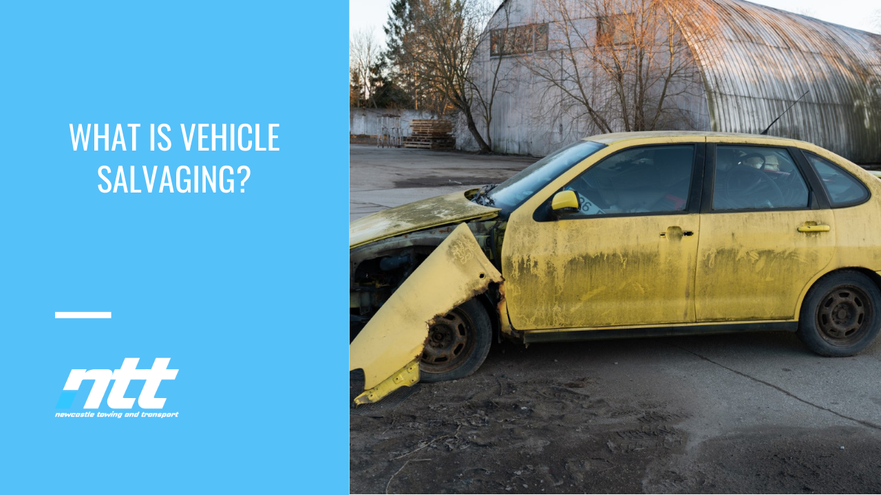 What is Vehicle Salvaging?